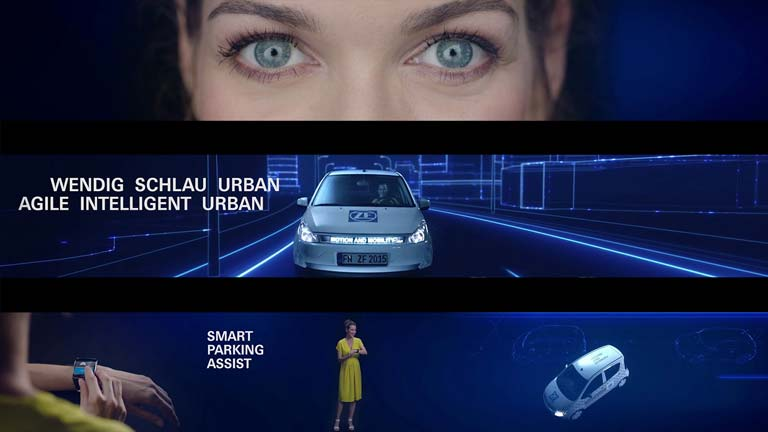 ZF - Advanced Urban Vehicle Unternehmensfilm / Eventfilm